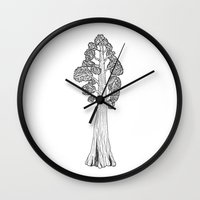 general Wall Clocks featuring General Sherman by Mrs. Ciccoricco