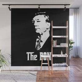 The Don Donald Trump Godfather Parody #society6 #decor #buyart #artprint Wall Mural