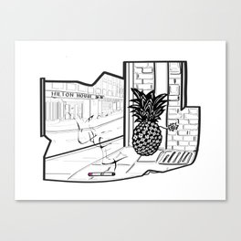 Hilton House Canvas Print