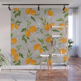 Gray kumquat Wall Mural