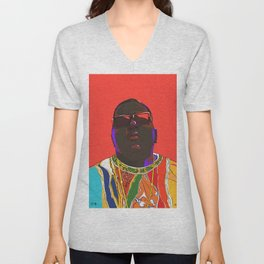 Biggie Smalls Unisex V-Neck