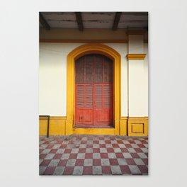 cache-cache Canvas Print