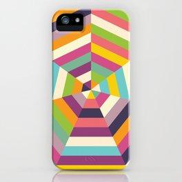 Heptagon Quilt 1 iPhone Case