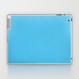 Blue leather texture Laptop & iPad Skin