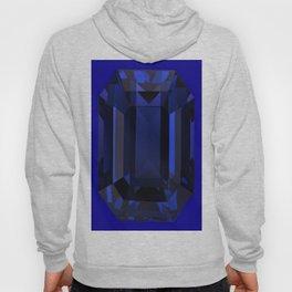 September Babies deed Blue Sapphire Birthstone Design Hoody
