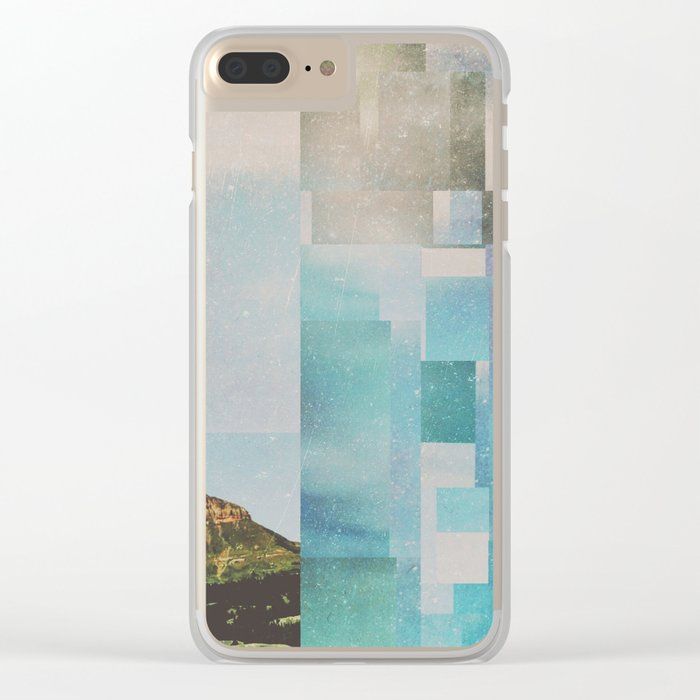 Fractions A65 Clear iPhone Case