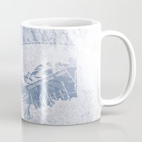 vintage map Mugs featuring Vintage Map by MJ'designs - Marosée Créations