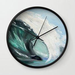 Ocean wave Wall Clock