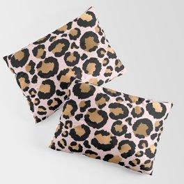 Animal print - pink copper Pillow Sham