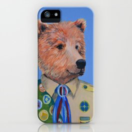 Grizzly Scout iPhone Case