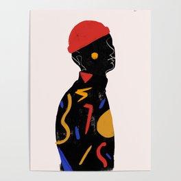 Red man Poster