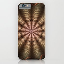 The Fabric Of The Space-Time Continuum iPhone Case
