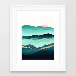 Summer Hills Framed Art Print
