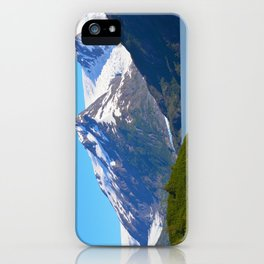 Portage Glacier - Summer iPhone Case