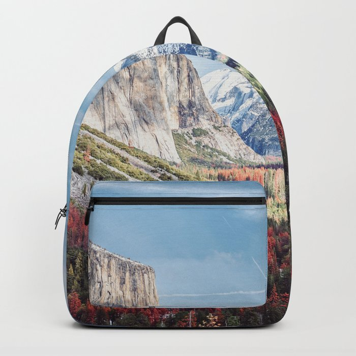 Tunnel View Yosemite Valley Backpack