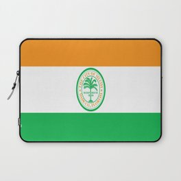American cities-  Flag of Miami Laptop Sleeve