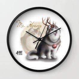 Mr. Horny Wall Clock