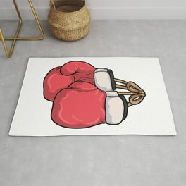 Boxing gloves Boxing Rug