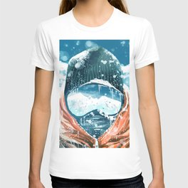climber in the everest T-shirt