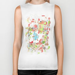 Life and Meaning 12 / Life Is A Constant Process of Unfolding and Will Remain Unfinished    Abstract Biker Tank