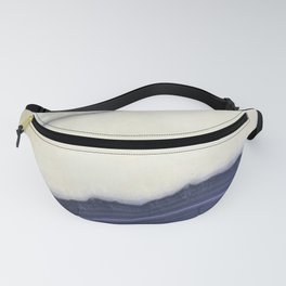 Striated Blue Geod Fanny Pack
