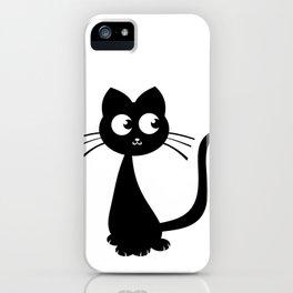 Kitty Kuro iPhone Case
