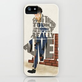 The Space Cowboy iPhone Case