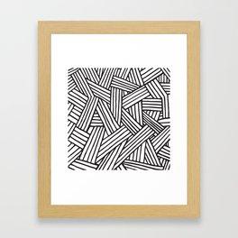 InterLines Framed Art Print