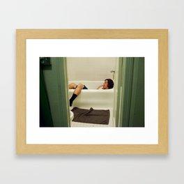 Caleb. Framed Art Print