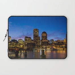 Boston City Skyline Laptop Sleeve