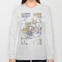Mechanical Diagram Long Sleeve T-shirt