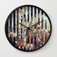 Autumn's the Mellow Time Wall Clock
