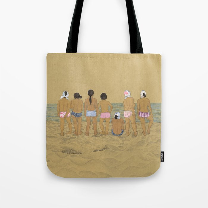 Waiting For The Catch Tote Bag