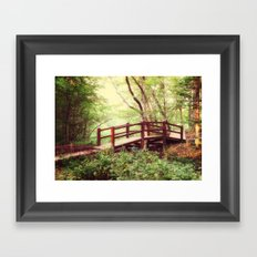 To the Forest Fairy Framed Art Print