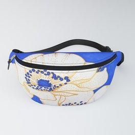 Ultramarine Blue :: Anemones Fanny Pack