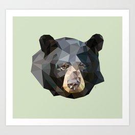 LP Bear Art Print