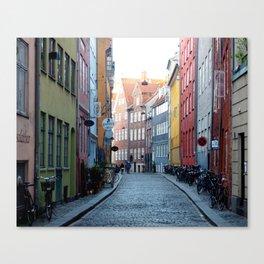 Colors of Copenhagen Canvas Print