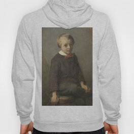 Portret of a boy - August Allebé (1856) Hoody