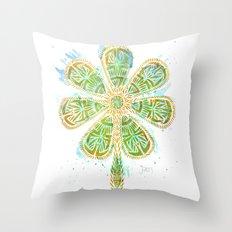 The Motherlucker - Golden Throw Pillow