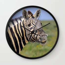 SMILE - Africa wildlife Wall Clock