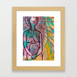 """Fearless Womb"" Framed Art Print"