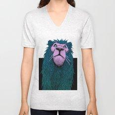 Lion Bust Unisex V-Neck