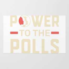 Power To The Polls Rug