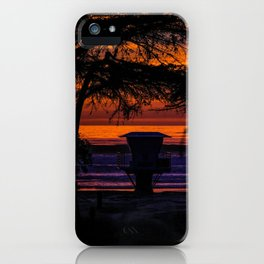 Tower 16 Sunset iPhone Case