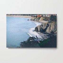 San Frans Coastline Metal Print