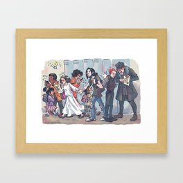 In honor of the beginning of the new school year Framed Art Print