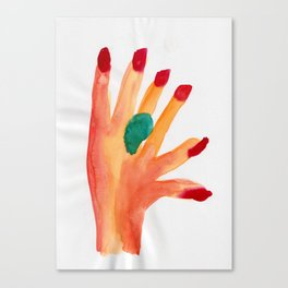 On the Other Hand Canvas Print
