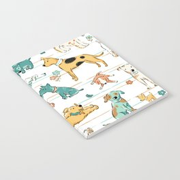 Dogs Dogs Dogs Notebook