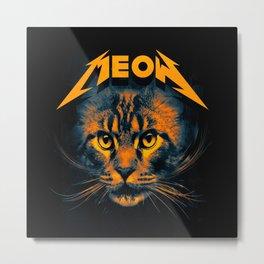 Meow Metal Print