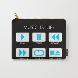 Music Is Life Carry-All Pouch
